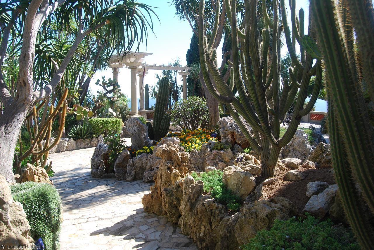 Jardin Botanique de Monaco, le Jardin Exotique.